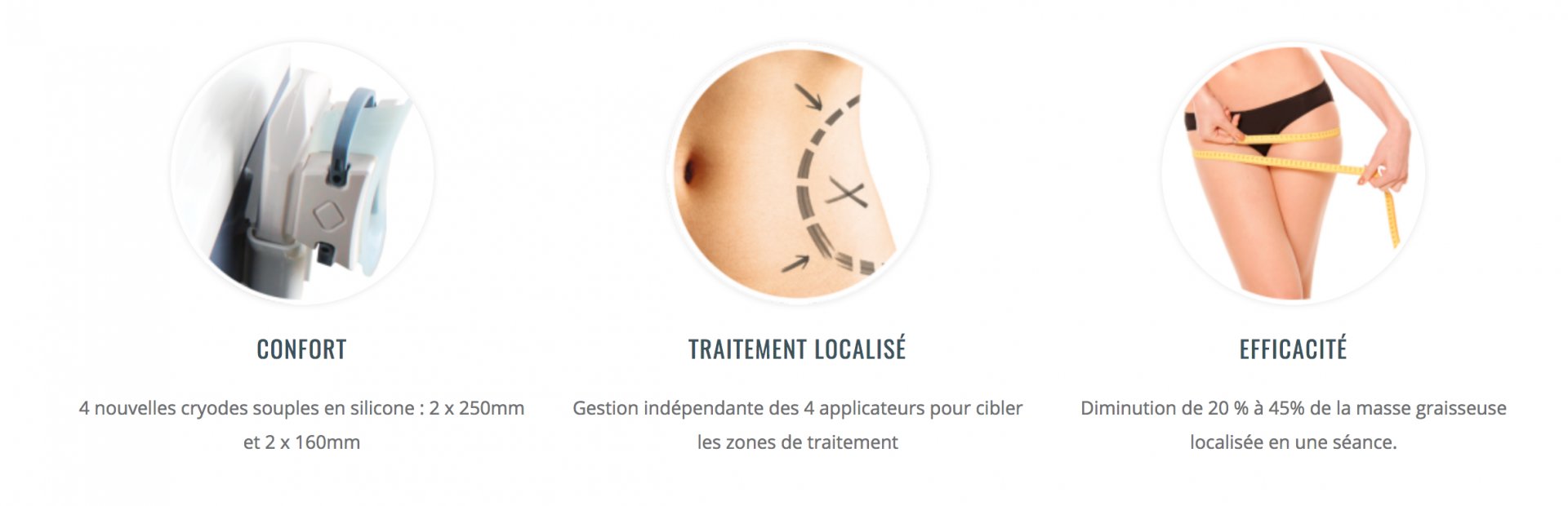 """4 - Cryolipolyse """"les point forts"""""""